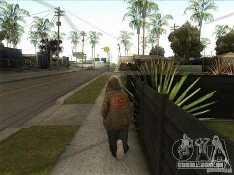 Ryo NFS PS para GTA San Andreas por diante tela