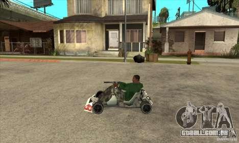 Stage 6 Kart Beta v1.0 para GTA San Andreas esquerda vista