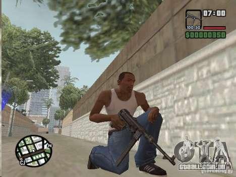 Mafia II Full Weapons Pack para GTA San Andreas terceira tela