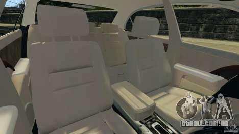 Honda Acura RL para GTA 4 vista de volta