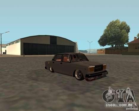 JDM VAZ 2107 para GTA San Andreas