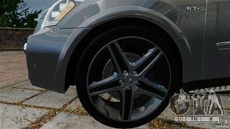 Mercedes-Benz ML63 AMG para GTA 4 vista direita