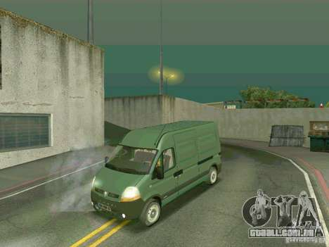 Renault Master para GTA San Andreas