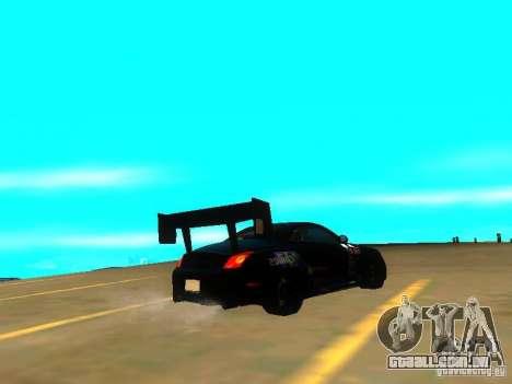 Lexus SC430 Daigo Saito v2 para GTA San Andreas esquerda vista