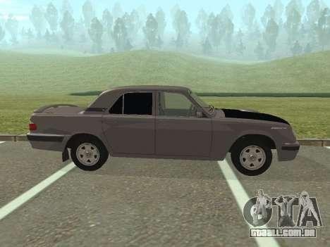 GAZ Volga 31105 restyling para GTA San Andreas esquerda vista