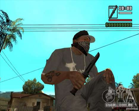 Millenias Weapon Pack para GTA San Andreas sexta tela