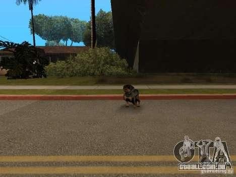 Animais para GTA San Andreas quinto tela