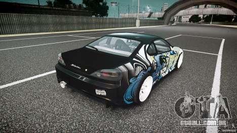 Nissan Silvia S15 Drift v1.1 para GTA 4 vista superior