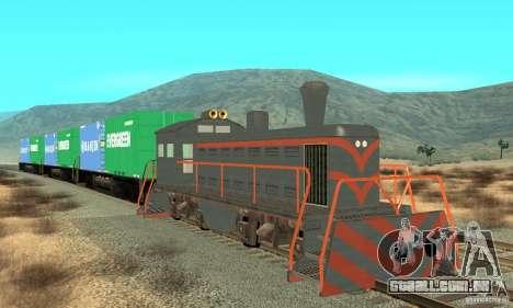 Lokomotive para GTA San Andreas