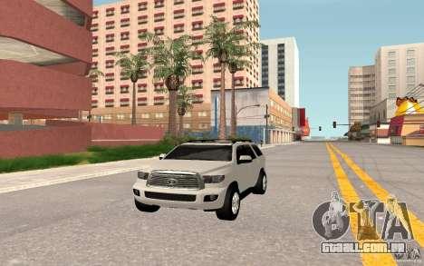 Toyota Sequoia 2011 para GTA San Andreas