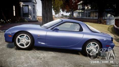 Mazda RX-7 1997 v1.0 [EPM] para GTA 4 vista interior