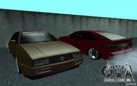 Volkswagen Corrado para GTA San Andreas vista direita