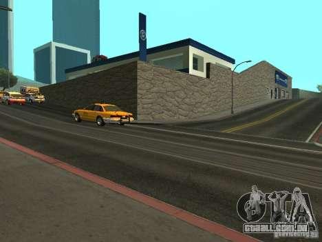 Auto Show Ford para GTA San Andreas terceira tela
