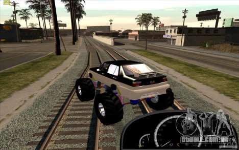 Jetta Monster Truck para GTA San Andreas esquerda vista