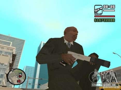 Silverballer silenciada de Hitman para GTA San Andreas segunda tela