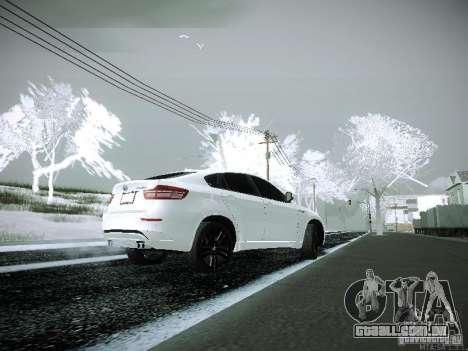 BMW X6M E72 para GTA San Andreas esquerda vista