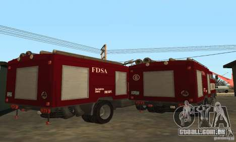 Fogo IFA para GTA San Andreas vista direita