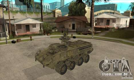 Stryker CDMW2 para GTA San Andreas