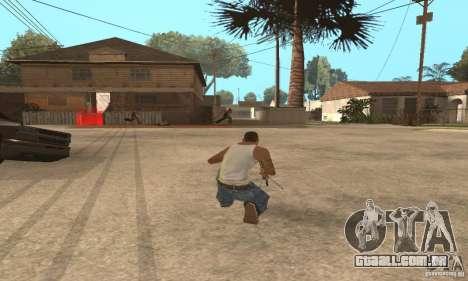 Intervenšn de Call Of Duty: Modern Warfare 2 para GTA San Andreas terceira tela