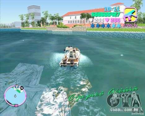 ENB Series for GTA ViceCity v2 para GTA Vice City por diante tela