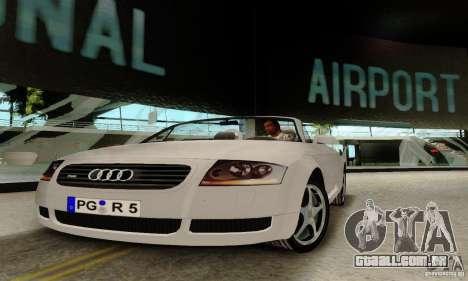 Audi TT Roadster para GTA San Andreas