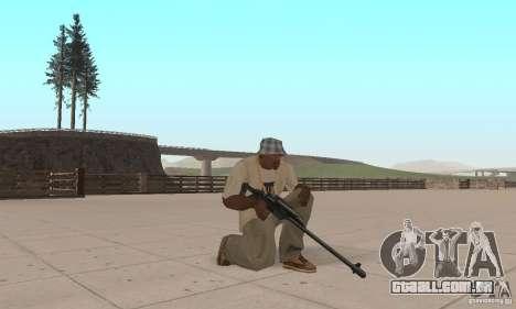 Pacote de armas de Star Wars para GTA San Andreas por diante tela