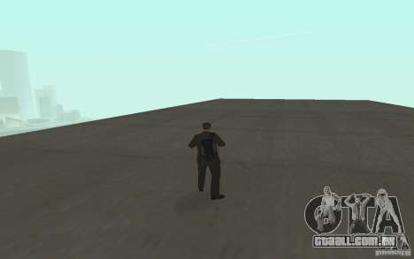 Animação de GTA IV v 2.0 para GTA San Andreas nono tela