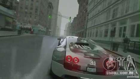 Bugatti Veyron 16.4 Super Sport para GTA 4 vista interior