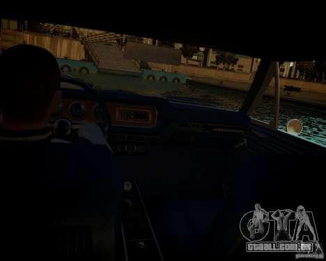 Pontiac GTO DF para GTA 4 traseira esquerda vista