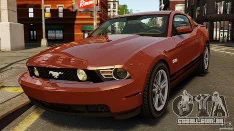 Ford Mustang GT 2011 para GTA 4