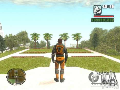 Gordon Freemen para GTA San Andreas segunda tela
