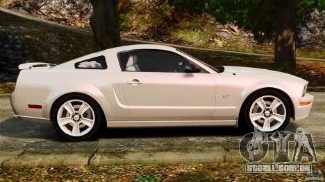 Ford Mustang GT 2005 para GTA 4 esquerda vista