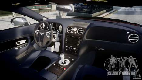 Bentley Continental SS 2010 Le Mansory [EPM] para GTA 4 vista superior