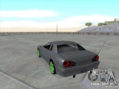 Elegy Full VT v1.2 para GTA San Andreas esquerda vista