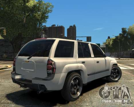 Chevrolet TrailBlazer v.1 para GTA 4 vista direita