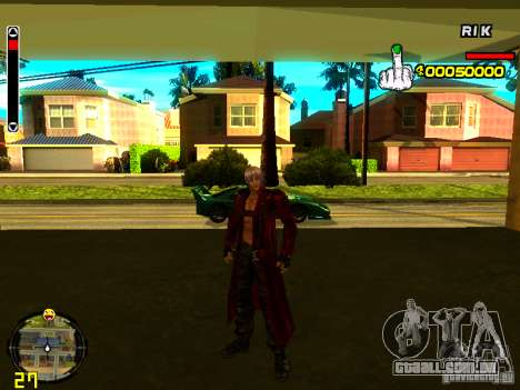 Dante para GTA San Andreas