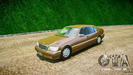 Mercedes Benz SL600 W140 98 performance shafter para GTA 4