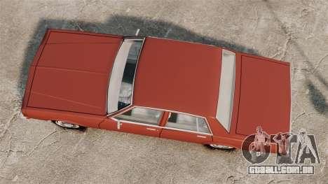 Chevrolet Caprice Classic 1979 para GTA 4 vista direita