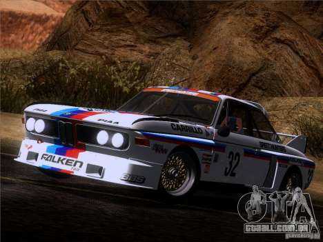 BMW CSL GR4 para vista lateral GTA San Andreas
