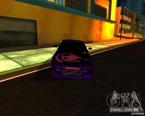 Nissan Silvia C-West para GTA San Andreas esquerda vista