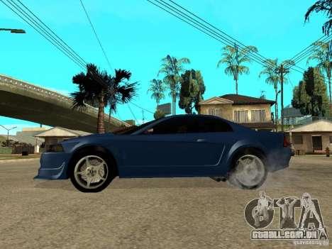 Ford Mustang Cobra R Tuneable para GTA San Andreas esquerda vista