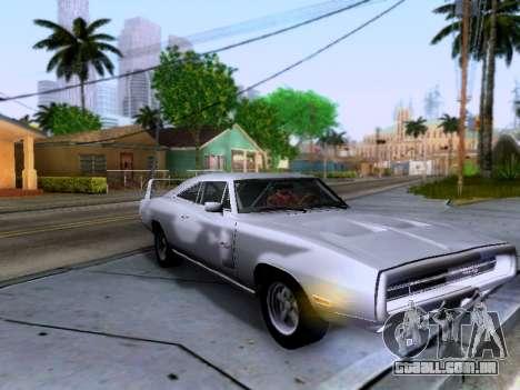 Dodge Charger RT para GTA San Andreas vista interior