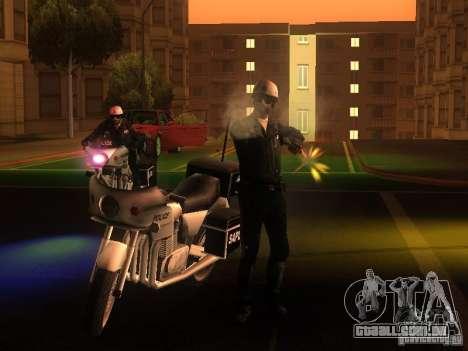 Novas configurações para policiais para GTA San Andreas