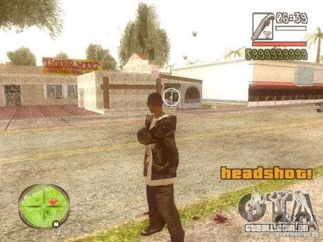 Wild Wild West para GTA San Andreas terceira tela