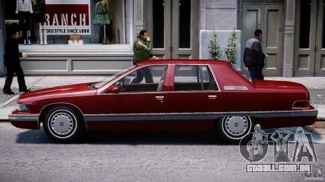 Buick Roadmaster Sedan 1996 v 2.0 para GTA 4 traseira esquerda vista