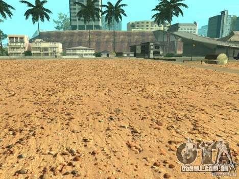 Praia de HQ v 1.0 para GTA San Andreas quinto tela