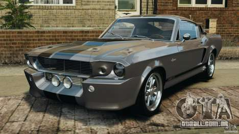 Shelby Mustang GT500 Eleanor 1967 v1.0 [EPM] para GTA 4