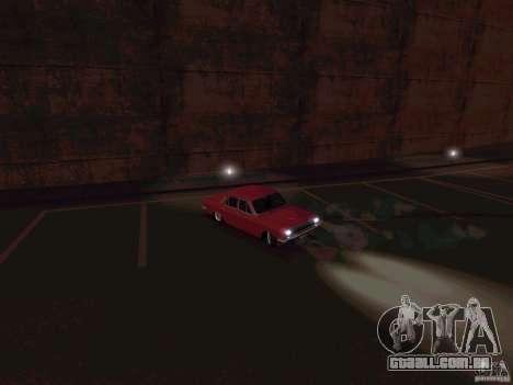 GÁS 24 CR v2 para GTA San Andreas traseira esquerda vista