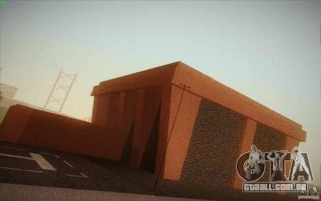 New SF Army Base v1.0 para GTA San Andreas oitavo tela