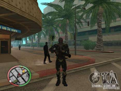 Armas alienígenas de Crysis 2 para GTA San Andreas quinto tela